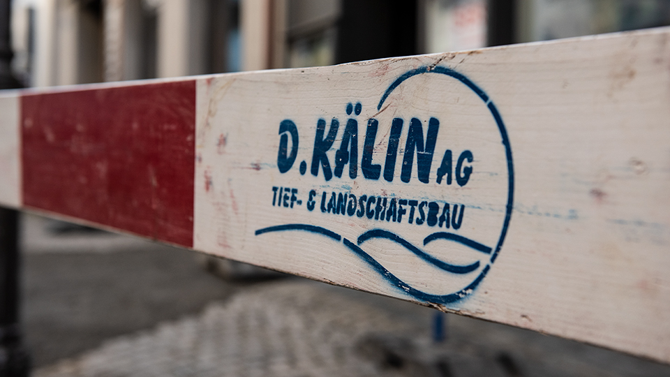 Daniel Kaelin AG, Tief- und Landschaftsbau, Tiefbau