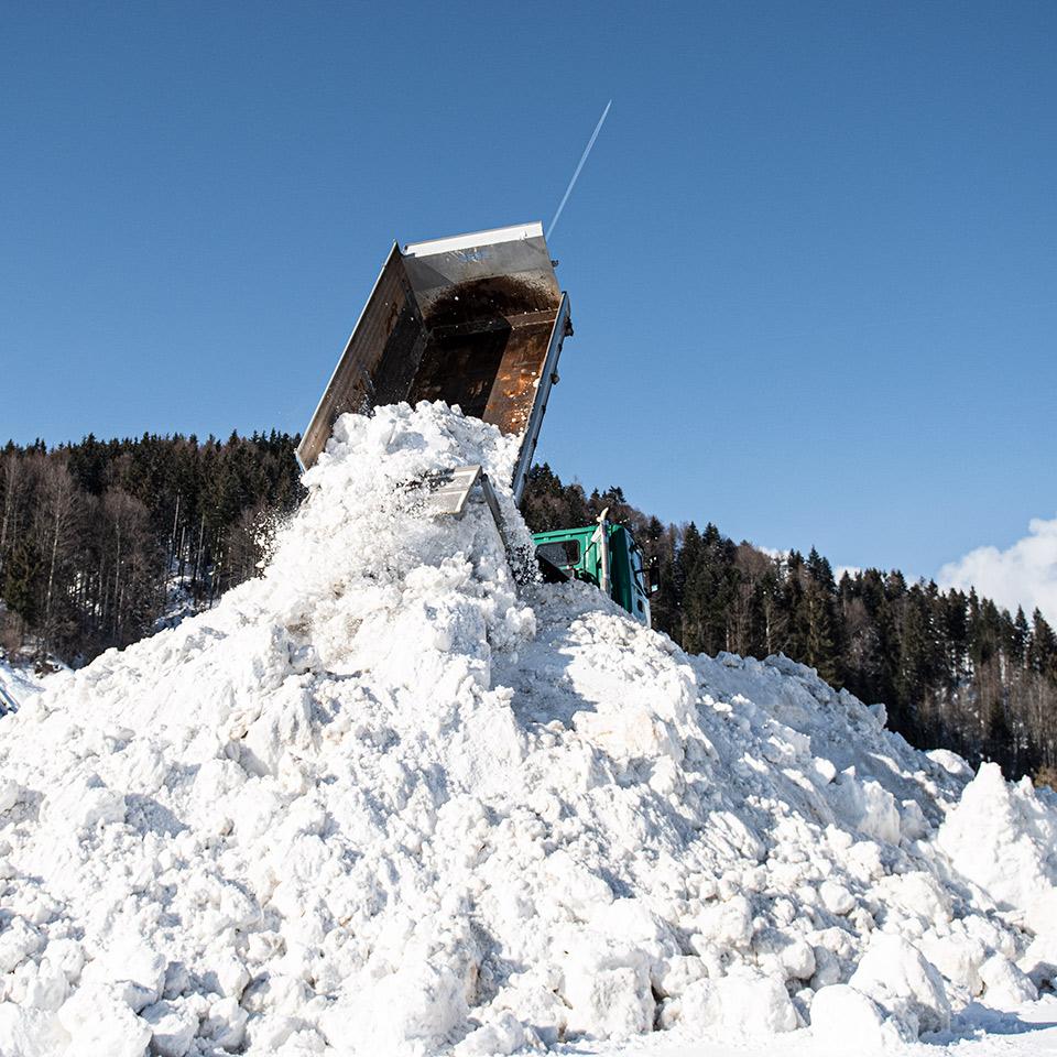 Daniel Kaelin AG, Tief- und Landschaftsbau, Schneeräumung
